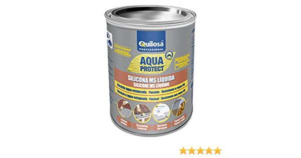 Quilosa T003095 Silicona Ms Liquida Negro 1 kg: Amazon.es: Bricolaje y herramientas
