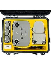 $39 » FPVtosky Waterproof Hard Case for DJI Mini 2 / Mavic Mini SE, Compact Portable Carrying Case for Mavic Mini 2 Fly More Combo/Mini SE, Professional Drone Accessories