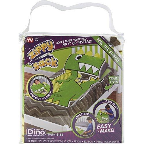 Techno Source 12616 Zippy Sack Dino Twin ()