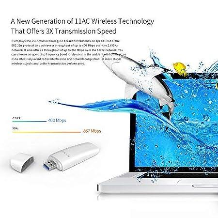 Tenda W311MI Adattatore USB Chiavetta Scheda da Rete N150 Wireless/,/USB 2.0 Adapter 150Mbps IEEE 802.11b//g//n Ultra Compact Design