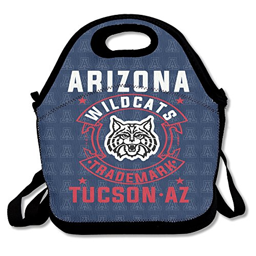 University Of Arizona Wildcats Trademark TUCSON AZ Travel Tote Lunch Bag
