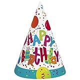 Birthday Jamboree Party Hats, 8ct