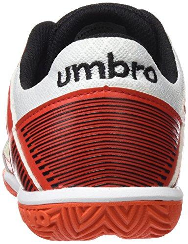 Umbro Room Pro Boot for Men, Men, Sala Pro Grenadine / Negro / Lime Green / Blanco