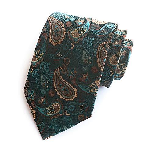 Bronze Peacock - Men's Handmade Silk Ties Fashion Peacock Green Bronze Wedding Dance Nice Necktie
