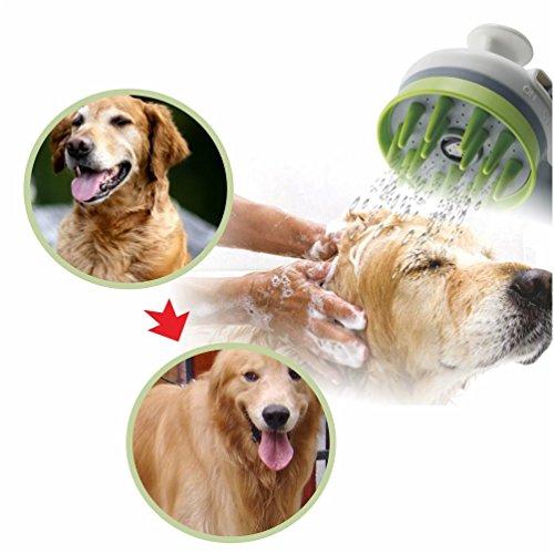 good SKILEEN Pet Sprayer Dog Bath Massage Brush Cat Shower