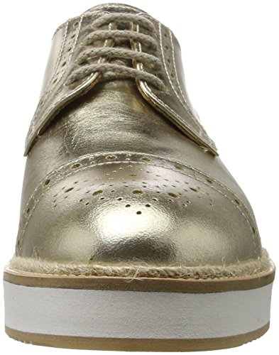 British Passport Zapatos derby Toe Cap Oro EU 41