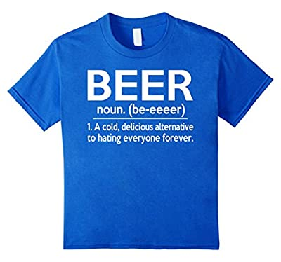 Beer Noun Funny Definition T-Shirt