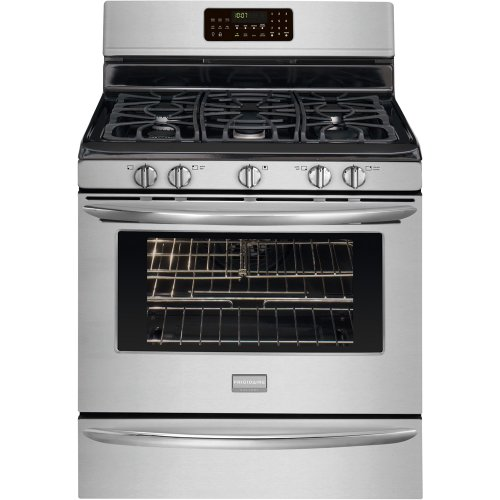 30 In. Gallery Series Freestanding Gas Range with 5.0 Cu. Ft. Self Clean Oven - Stainless Steel