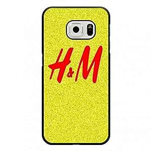 H&M Phone Funda For Samsung Galaxy S6Edge Hard Plastic Funda Luxury Brand Design