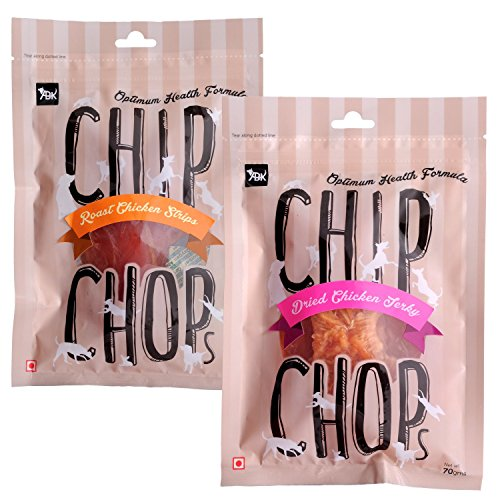 Chip Chops Roast Chicken Strips & Sun Dried Chicken Jerky Dog Treats, 140g, Optimum Health Formula (B06XHK4KMX) Amazon Price History, Amazon Price Tracker
