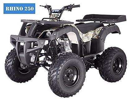 amazon com brand new adult size 250 adult size atv with standard rh amazon com Kazuma ATV Carburetor Kazuma ATV Parts