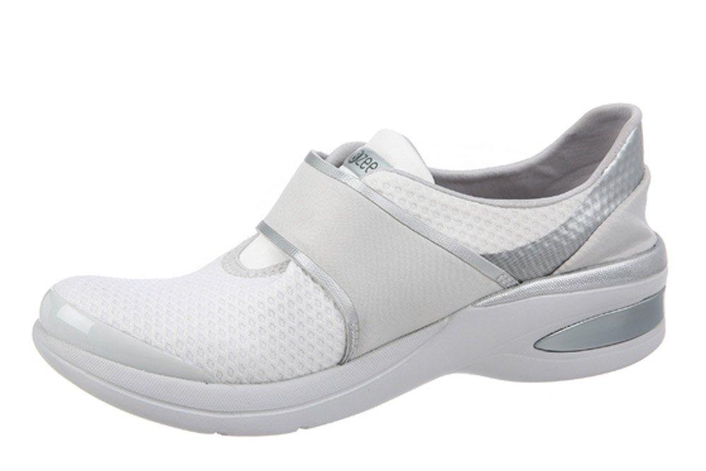 BZees Women's Roxy Sneaker B072QFGXRF 5 B(M) US|White
