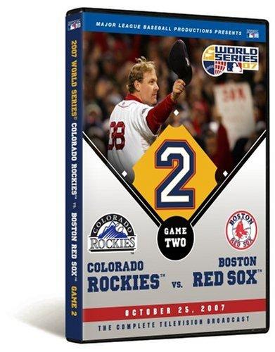 2007 World Series Game 2 - Boston Red Sox 2, Colorado Rockies 1