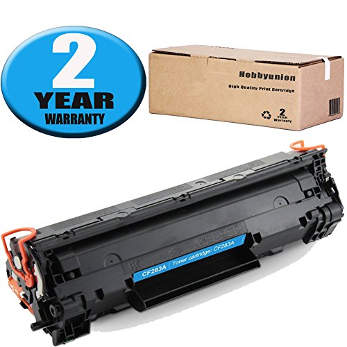 83A CF283A Toner Cartridge 1 Pack Black Hobbyunion Brand Replacement for HP LaserJet M125A M125NW M125RNW M126A M126NW (Contact Us Page)