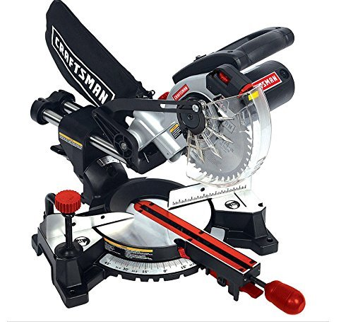 Craftsman Craftsman 7 1/4-Inch Sliding Compound Miter Saw 00932286000P