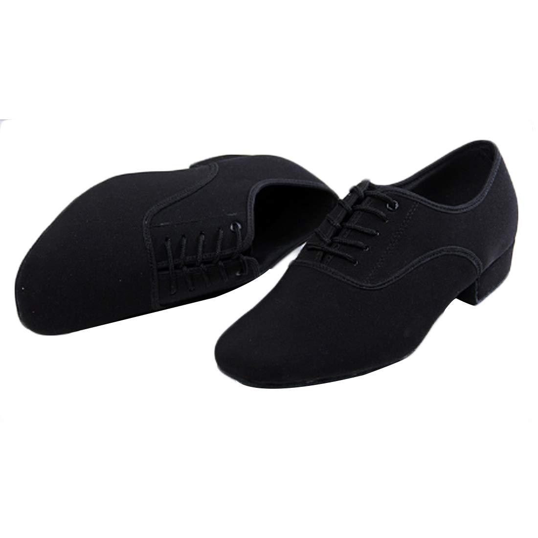 Huicai Hombres Sal/ón de Baile Danza Moderno Danza Zapatos Adulto Tacon bajo Casual Zapatos