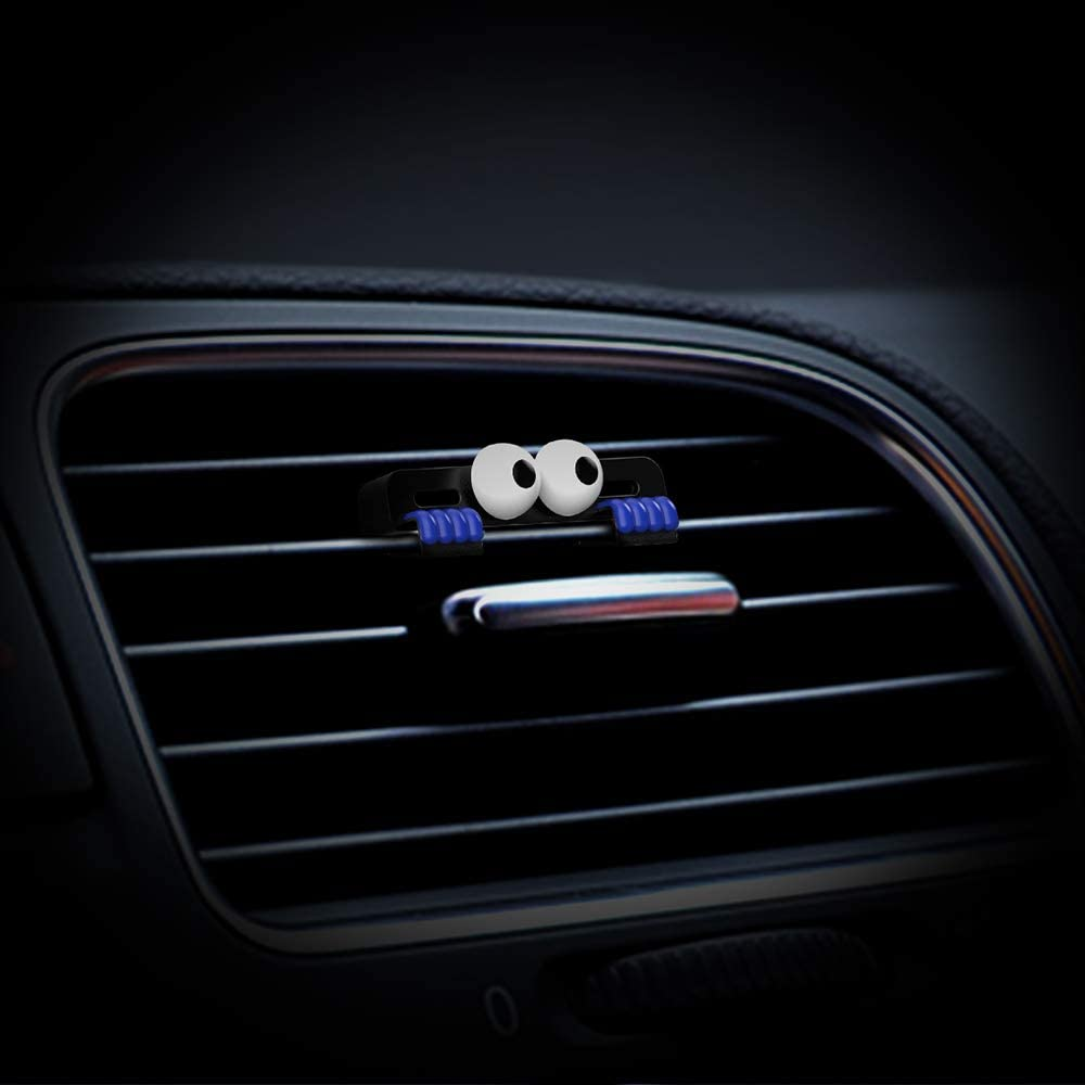 DEMUR Car Air Freshener by IndependentDesigner,I Am Watching You,Scent-up to 40 Days-Blue
