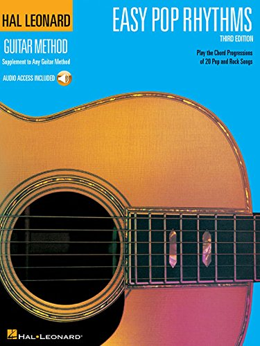 Easy Rhythm Guitar Books - Easy Pop Rhythms: Correlates with Book 1 (Hal Leonard Guitar Method)