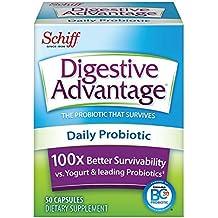 Digestive Advantage Daily Probiotic - Survives Better than 50 Billion - 50 Capsules