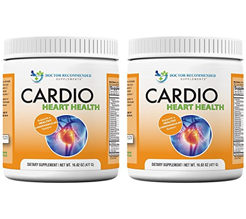 Cardio Heart Health-L-Arginine Powder Supplement-5000mg Plus 1000mg L-Citrulline-with Minerals, and Antioxidants Vitamin C & E-Total Cardiovascular System Health-Formulated by Real Doctors 2 Pack