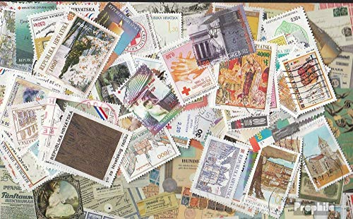 Croatia 250 Different Stamps ab 1991 (Stamps for Collectors)