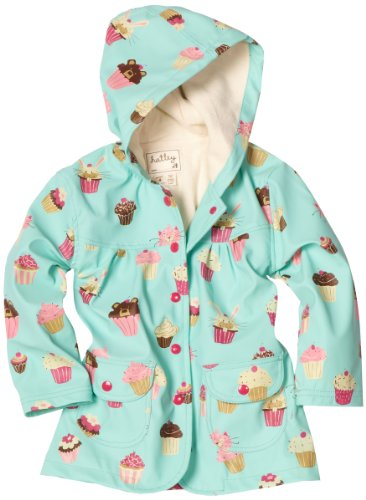 Amazon.com: Hatley Big Girls' Cupcakes Children Rain Coat, Ocean ...