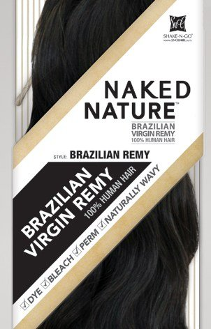 Unprocessed Naked Remy Nature Weave - BRAZILIAN REMY (Bundle Hair) (24