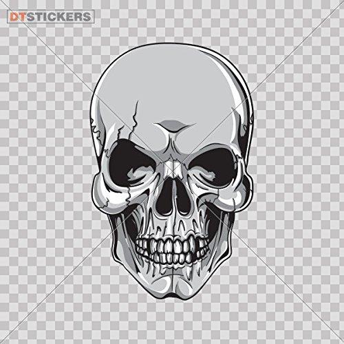Vinyl Stickers Decal Skull Monster Motorcycle Laptop N For Helmet waterproof (10 X 6,36 In. ) Fully Waterproof Printed vinyl sticker