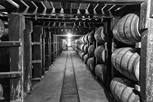 Fine Art Print of Buffalo Trace Warehouse, Various Print Sizes, Canvas and Photo Whiskey Prints, Perfect Gift for Bourbon Aficionado - Pappy Van