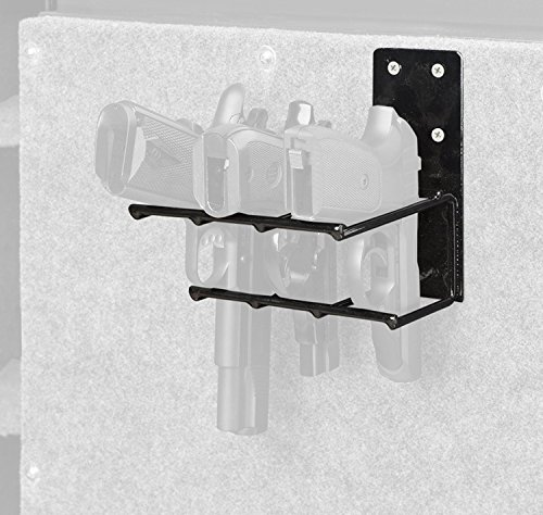 Rack'Em 3 Pistol Holster Mount Anywhere Handgun Rack