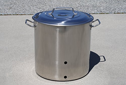 stainless steel 15 gallon kettle - 8