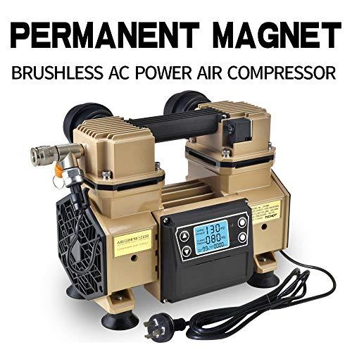 [해외]Tichop Potable Air Compressor oil free quite,lightweight (Brown) / Tichop Potable Air Compressor, oil free, quite,lightweight (Brown)