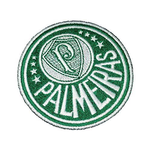 TSP159 Palmeiras SP Brazil Shield Football Soccer Embroidered Patch Iron or Sew - Soccer Ball Embroidered Iron