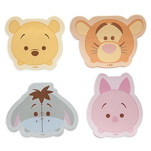 Disney Store Winnie the Pooh and Friends ''Tsum Tsum'' Sticky Note Set Notepad (Eeyore Character)