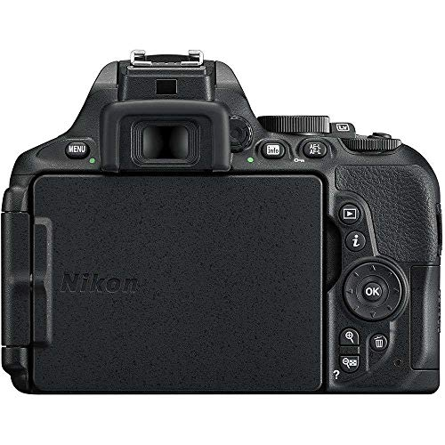 Nikon D5600 24.2 MP DX-Format DSLR Camera w/AF-S 18-140mm f/3.5-5.6G ED VR Lens - (Certified Refurbished)