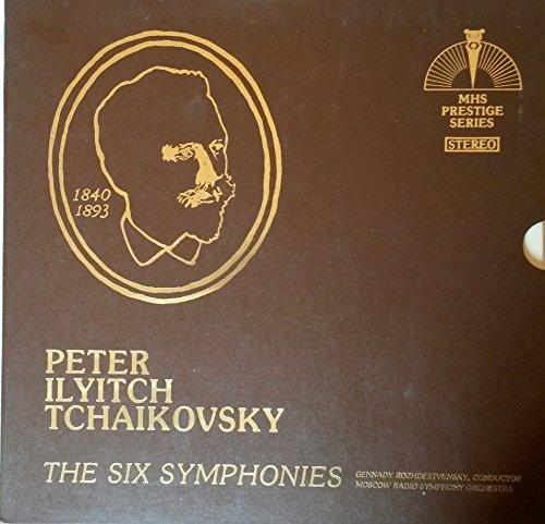 P. I. TCHAIKOVSKY: THE SIX SYMPHONIES~MHS Prestige Series Stereo 6 Vinyl Lp's. SYMPHONIES:No. 1,g mi,Op. 13