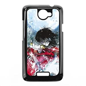 Kara No Kyoukai Anime HTC One X Cell Phone Case Black TPU Phone Case SV_183376