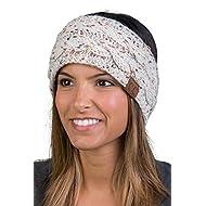 FunkyJunque HW-6033-67 Confetti Head Wrap - Oatmeal