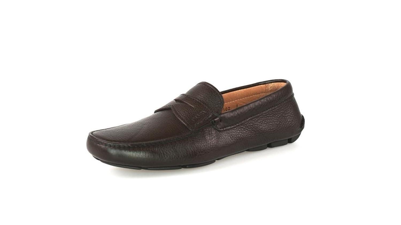 Prada Men's 2D1102 Leather Loafers