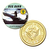 U.S Navy USS Barb (SSN-596) printed Challenge coin