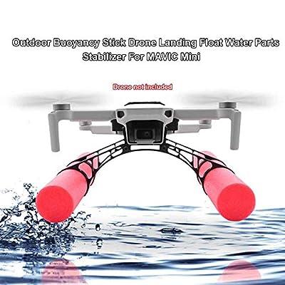 Erthree Drone Landing Float Water for DJI Mavic Mini,Drone Buoyancy Stick Stabilizer,Drone Landing Gear for DJI Mavic Mini: Home & Kitchen