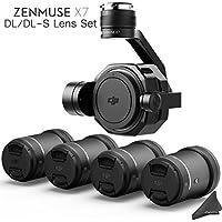 DJI Zenmuse X7 3-Axis Gimbal & Super 35 Cinema Camera with 4 Lens DL/DL-S Lens Bundle & eDigitalUSA Kit