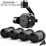 Cheap DJI Zenmuse X7 3-Axis Gimbal & Super 35 Cinema Camera with 4 Lens DL/DL-S Lens Bundle & eDigitalUSA Kit