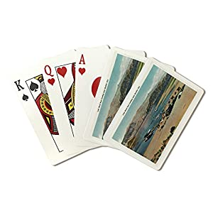 Lake Mead, Nevada - Overall View of the Boat Landing near Boulder City (Playing Card Deck - 52 Card Poker Size with Jokers)