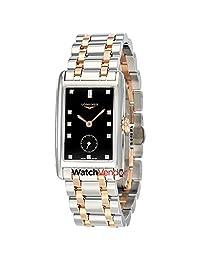 Longines DolceVita Black Dial Diamond Ladies Watch L5.512.5.57.7