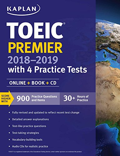Toeic premier 2018 2019 with 4 practice tests online book cd toeic premier 2018 2019 with 4 practice tests online book cd gumiabroncs Choice Image