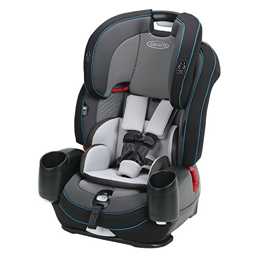 Graco Nautilus SnugLock LX 3-in-1 Harness Booster Car Seat, Zale
