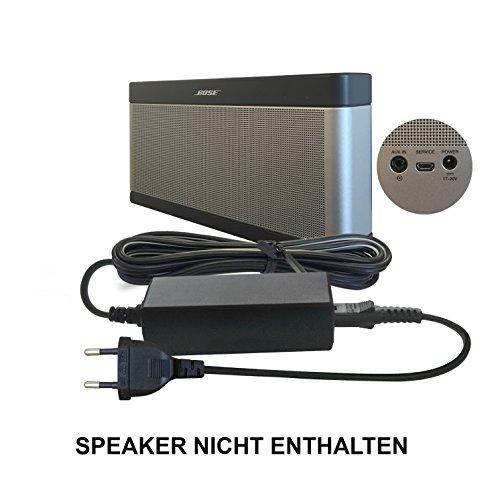 ABC Products® Ersatz Bose Akku Ladegerät, Netzteil, Netzadapter, Netzanschluss 17V - 20V, (17 - 20 Volt) für SoundLink I, II, III, 1, 2, 3 Bluetooth Lautsprecher / Speaker etc