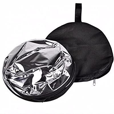 5 In 1 Round Reflector Light Photography Camera Multi Collapsible Disc Reflector 43 Inch 110 CM
