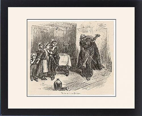 Framed Print Of Salem Witches Tituba by Prints Prints Prints